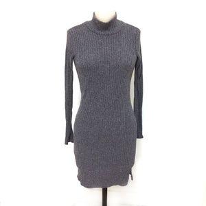Wilfred Free Gray Bodycon Knit Dress/XS, S